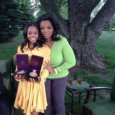 Gabby and Oprah!