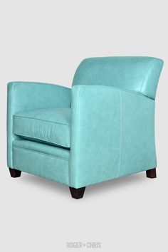 Compact Armchairs, Handmade | Pegeen Blue Armchair, Blue Furniture, Love Blue, Quality Furniture, Blue Velvet, Tub Chair, Blue Sofas, Blue Chairs, Accent Chairs