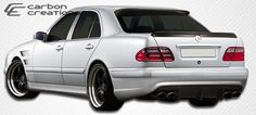 2000-2002 Mercedes E Class W210 Carbon Creations Morello Edition Rear Bumper Cover - 1 Piece