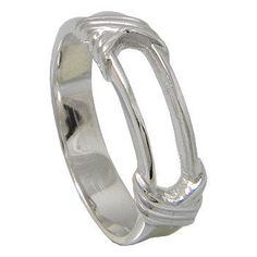 Sterling Silver Band Ring by jewelkingthai on Etsy, $12.00