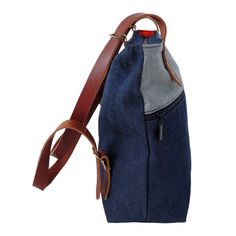Items similar to Denim Backpack/ Denim Tote Bag/ Convertible Backpack Purse/ Navy Blue Backpack/ Denim Bookbag/ Leather Backpack on Etsy Denim Backpack, Denim Tote Bags, Sling Backpack, Convertible Backpack, Backpacks, Trending Outfits, Unique Jewelry, Handmade Gifts, Clothes