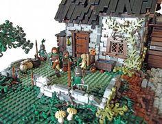 Darkmire Mill: A LEGO® creation by Luke Watkins : MOCpages.com