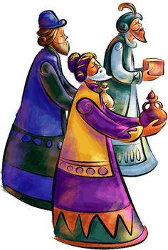 Tres Reyes Magos Ilustraciones