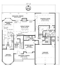 55 Best House plans images in 2016   Home plans, House floor