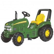 FS 035632 - X-Trac John Deere, Tret-Traktor, - Spielzeugtester. Childrens Garden Toys, Kids Garden Toys, Shops, Chain Drive, Balance Board, Preschool, Fun, Scooters, Preschools