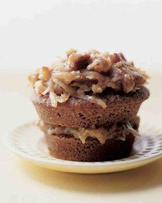 Chocolate Cupcake Recipes: German Chocolate Cupcakes