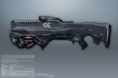 Syndicate Concept Art - COIL rifle by torvenius on DeviantArt