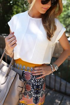 like the skirt, not the top.