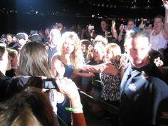 Love this fan shot of Taylor Swift's Fearless Tour 2010. #taylorswift #swifties #gillettestadium