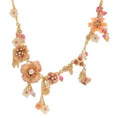 Les Nereides - Joli Mois de Mai full row necklace