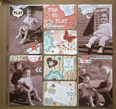 Ariane Stamps: old family photo's.....project life, Stampin' Up!, die cuts, scrapbooking