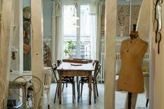 Vintage Chic en un apartamento en París
