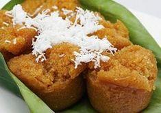 Resep Kue Mangkok Gula Merah Tanpa Tape Mekar Merekah Indonesian Desserts, Asian Desserts, Indonesian Food, Indonesian Recipes, Cookie Recipes, Snack Recipes, Snacks, Food N, Food And Drink