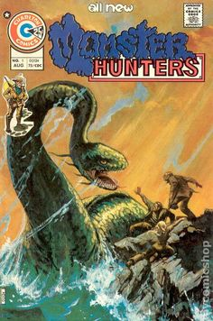 MONSTER HUNTERS 1, CHARLTON COMICS