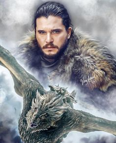 Game of Thrones [SPOILERS] Another breathtaking piece of art by Vera Adxer Game Of Thrones Wallpaper, Game Of Thrones Artwork, Game Of Thrones Facts, Game Of Thrones Dragons, Got Game Of Thrones, Game Of Thrones Quotes, Game Of Thrones Funny, Winter Is Here, Winter Is Coming