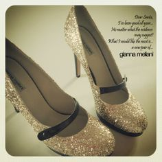 Be sparkling with Gianna Meliani shoes!;)