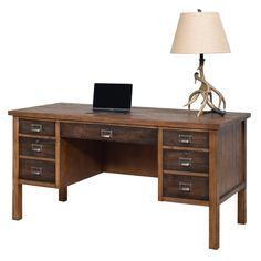 Bissell Half Pedestal Computer Desk