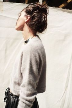 cropped sweater // winter style