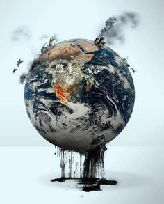 What are you going to do when all reserves are tapped out and they have fracked the life out of mother earth? Go GREEN. Reduce travel pollution with video conferencing. Salve A Terra, Terre Nature, Art Environnemental, Saint Sauveur, Save Our Earth, Save Planet Earth, Save Mother Earth, Save The Planet, Expo 2020