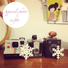 Gabulle in Wonderland : polaroïd vintage et flocons en perles hama @gabulleinwonderland Instagram photos | Webstagram