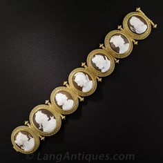 Vintage Cameo Jewelry, Victorian Jewelry, Antique Jewelry, Gemstone Jewelry, Jewelry Bracelets, Art Ancien, Bracelet Box, Greek Gods And Goddesses, Ancient Jewelry