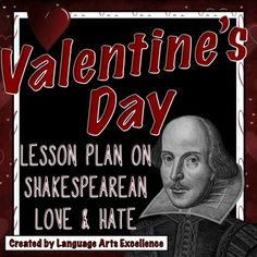 Any teacher of middle or high school students knows that emotions tend to run wild on Valentine's Day, and instead of fighting it, this lesson on Shakespearean language will help you to take advantage of the birds and the bees buzzing around in your