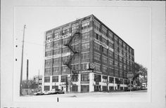Vintage photo-The B.S. Wisniewski building in Walker's Point on Milwaukee's south side.This building has since been converted to condos.