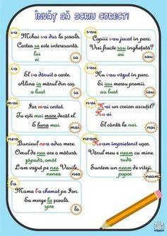Alphabet Worksheets, Worksheets For Kids, Education Quotes, Kids Education, Visual Perceptual Activities, Romanian Language, Teacher Supplies, School Games, School Lessons