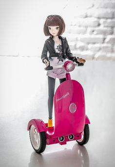 Jun Doll with Siggy
