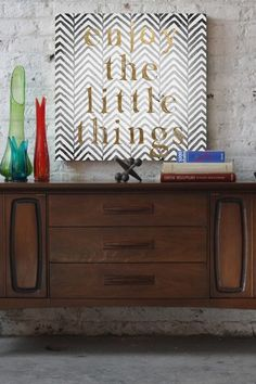 Oliver Gal Enjoy the Little Things Canvas Art by Oliver Gal Gallery on @HauteLook