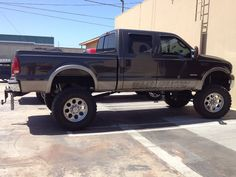 2005 Powerstroke Ford Crew Cab, Short Bed - 4 in. 4x4 Trucks, Diesel Trucks, Ford Trucks, Ford 4x4, Orange County, Monster Trucks, Stainless Steel, Toys, Big