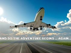 PASSPORT REQUIRED! STAY TUNED! And So The Adventure Begins, Say Something, Stay Tuned, Passport, Planes, Trains, Aircraft, Vehicles, Autos
