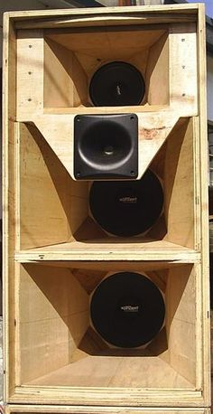 mga DIY speaker cabinet users/builders post your pic here Subwoofer Box Design, Speaker Box Design, Diy Speakers, Built In Speakers, Speaker Plans, Audio Design, Loudspeaker, Horns, Subwoofer Box