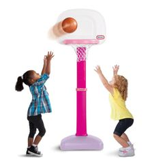 TotSports™ Easy Score™ Basketball Set- Girls' Version for $31.99 #littletikes