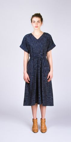 436bb8b0de7 The Tea House Top And Dress (printed pattern) Simple Dress Pattern, Linen  Dress
