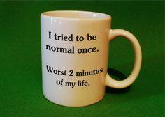 Funny saying Coffee Mug Tea mug coffee cup by SMARTalecsTX on Etsy