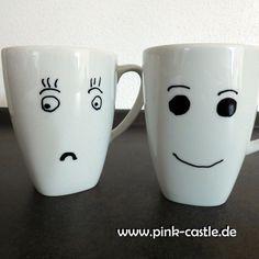 DIY Sweety Tassen | DIY Kawaii Cups | visit me @pink-castle.de #pinkcastlediy