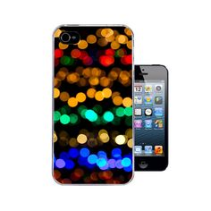 Blurred Lights Colourful Bokeh - iPhone 4 case / iPhone 4s case / iPhone 5 case / iPhone 5s case Stylish Protective Cover (A60) by 38kVinylGraphics on Etsy https://www.etsy.com/listing/193589719/blurred-lights-colourful-bokeh-iphone-4