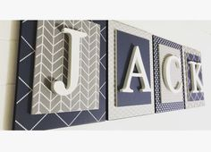 shop: Boys Name Sign, Nursery Name Sign for Boys Nursery, Letters for Nursery, Boys Wall Letters, Custom Nursery Letters Excited to share this item from my Boy Nursery Letters, Nursery Signs, Nursery Ideas, Nursery Room, Airplane Nursery, Baby Letters, Child's Room, Girl Nursery, Baby Boy Rooms