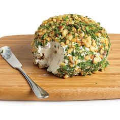 Save calories this holiday season. Date, Walnut and Blue Cheese Cheeseball.