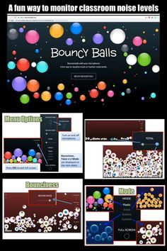 Use Bouncyballs.org as a fun way to monitor classroom noise levels! Show this website with the use of a projector to your students as they are working. The balls bounce higher as the volume of the classroom increases, giving students a visual indicator to lower their voices. You will need a microphone attached to your computer ... Read More about Monitor Classroom Noise with Bouncyballs.org