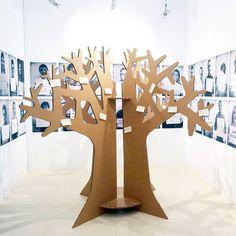 #arbol de los #deseos de #carton hecho por Cartonlab: