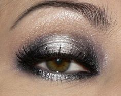 A silver smoky eye? Sign us up. http://www.morebabyproducts.com/ginsey-elmo-bath-toy-organizer.html