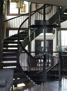 Glass Elevator, House Elevation, Staircases, Stairs, Stairways, Ladders