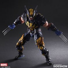 The Wolverine Variant Play Arts KAI Collectible Figure by Square Enix is available at Sideshow.com for fans of Marvel's X-Men.