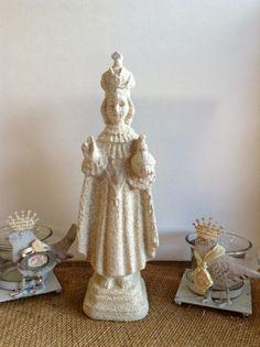 Child Prague Religious Statue Reproduction by lamoneeboutique, $10.00