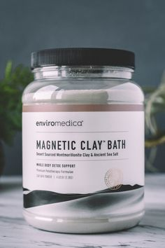 Magnetic Clay Detox Baths are a very fine, mineral-rich, clay [Sodium] Bentonite in its pure form without harmful, commercial emulsifiers. Benefits and Uses of Magnetic Clay. Beauty Care, Beauty Skin, Health And Beauty, Beauty Hacks, Clean Beauty, Beauty Tips, Beauty Products, Kundalini Yoga, Face Skin