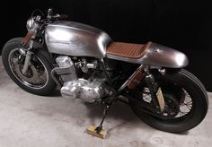 """1976 CB750F SS Cafe Racer """"The Natural"""""""