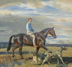 Sir Alfred Munnings: An Artist's Life, Richard Green, Alfred Munnings, Equestrian Decor, Horse Portrait, Pencil Portrait, Horse Drawings, Artist Life, Equine Art, Horse Art, Oeuvre D'art