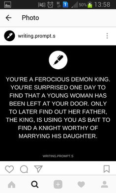 "... and the demon king treats her way better than her own father, as an equal. He takes her in and teaches her to reach her true potential as bad ass. When ""worthy"" knights come to rescue her she beats them all off!"